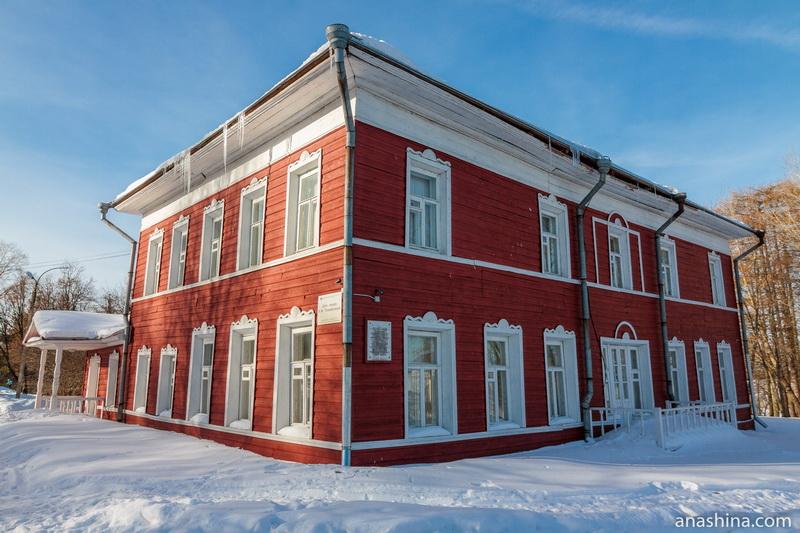 Дом-музей Можайского близ Вологды