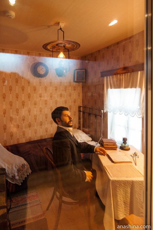 """Комната ссыльного Сталина, музей """"Вологодская ссылка"""""""