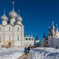 Фотопост: Ростов Великий и озеро Неро в ясный зимний день