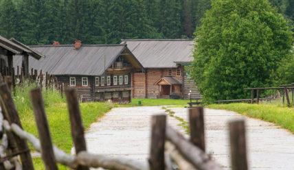 Музей деревянного зодчества Вологодской области «Семёнково»