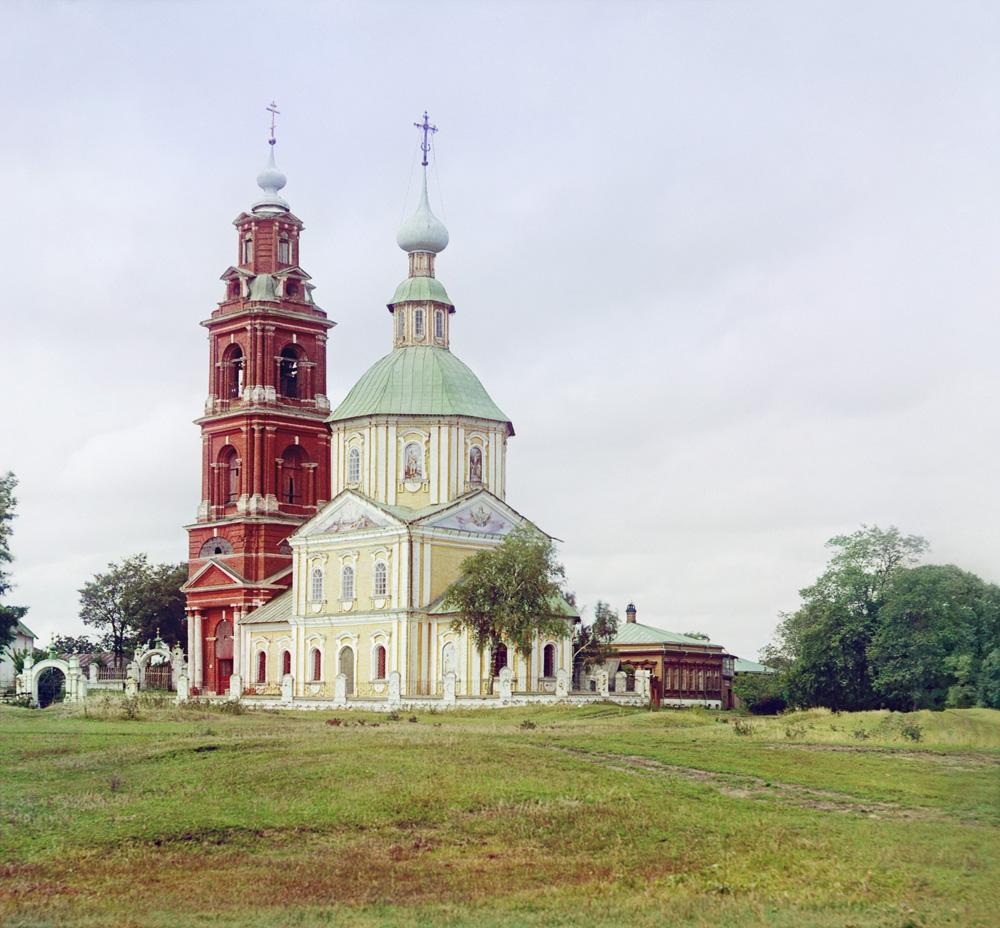 С.М.Прокудин-Горский. Суздаль. Церковь Димитрия Солунского. 1912 г.