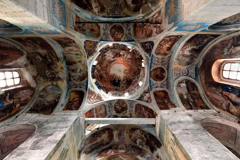Фрески Георгиевского собора, Юрьев-Польский