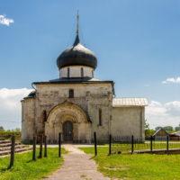 Белокаменный Георгиевский собор в Юрьев-Польском