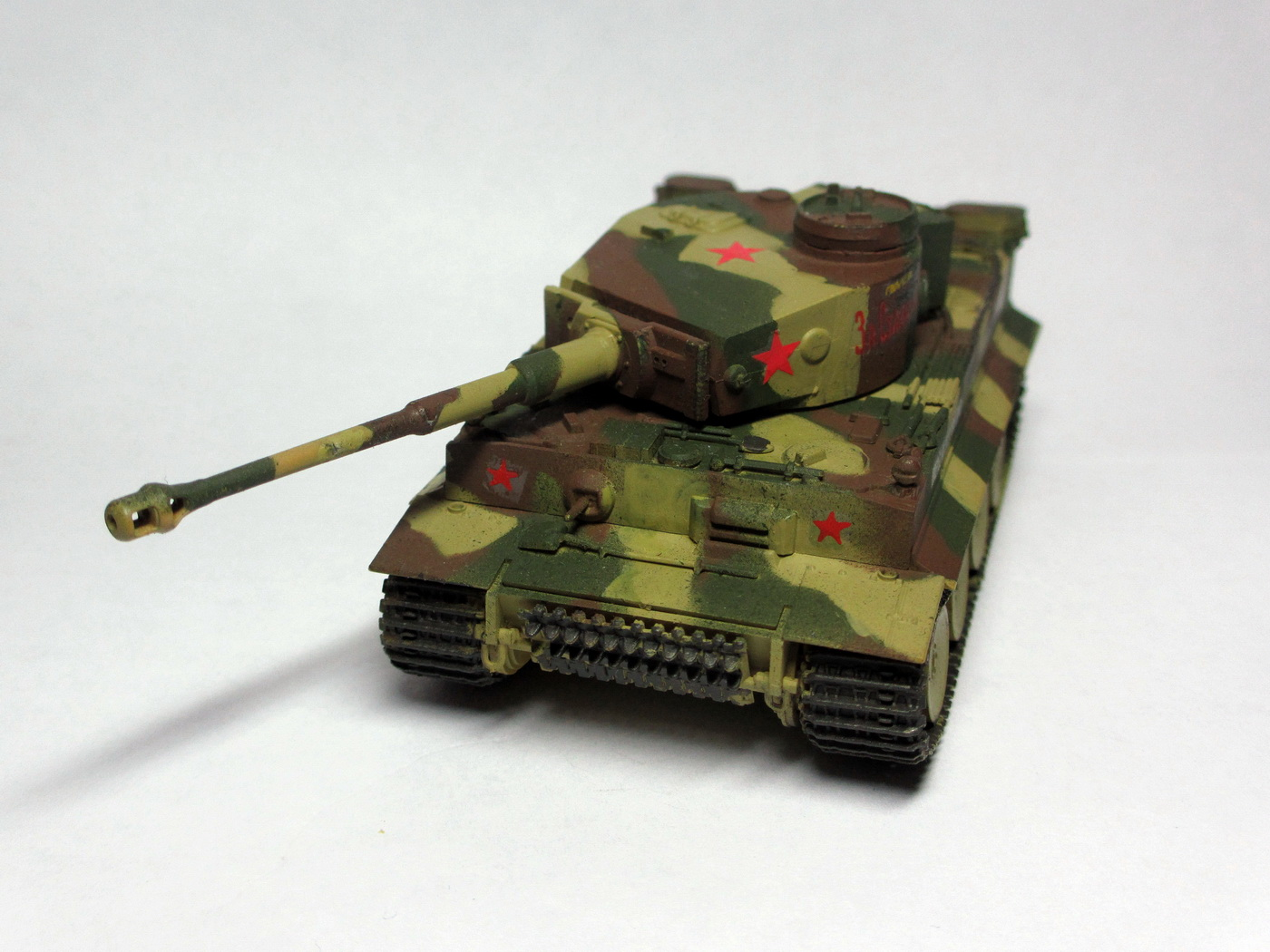 Модель трофейного Pz. Kpfw VI Tiger