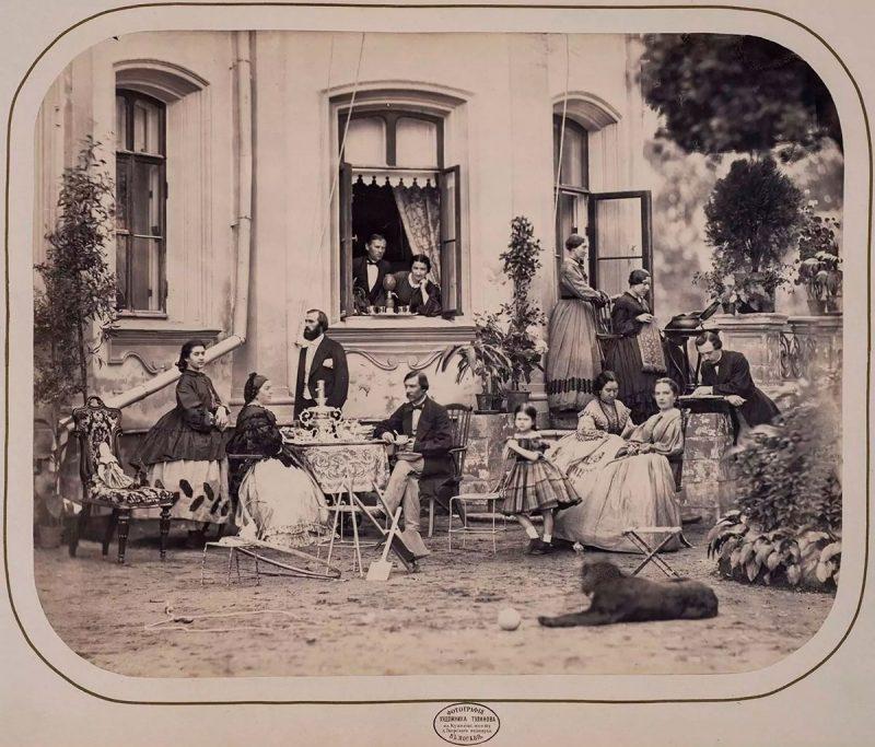 Усадьба Никольское-Прозоровское, старое фото