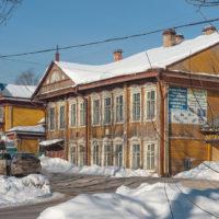 Деревянные дома Солигалича
