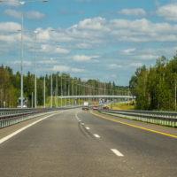 Трасса М-11 в Тверской и Новгородской областях