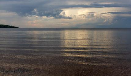 «Точка на карте» в Приозерске и панорамы Ладожского озера