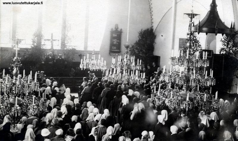 Богослужение в кирхе Марии Магдалины, Койвисто, Приморск