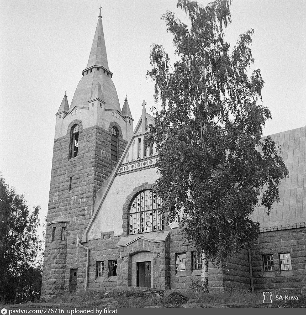 Лютеранская кирха в Ряйсяля, Ленинградская область