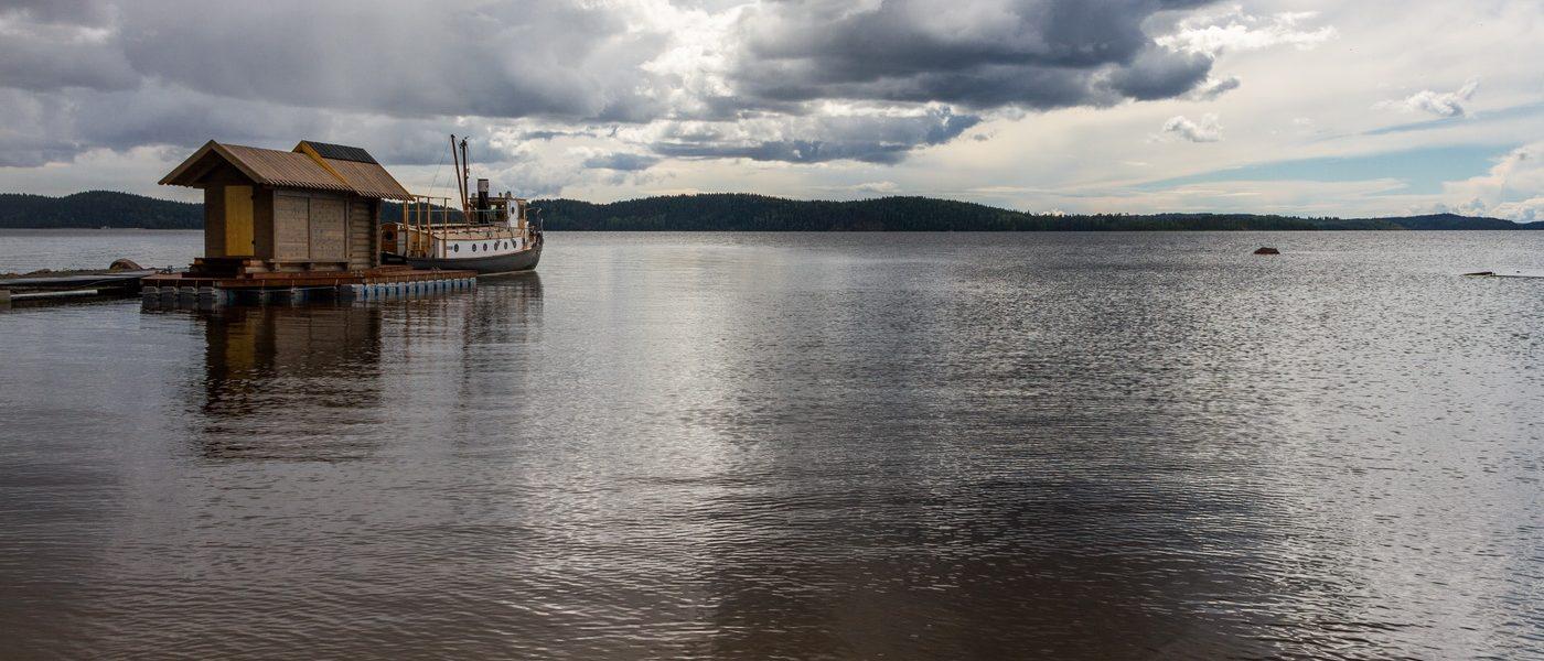Легенды залива Хиденселькя Ладожского озера