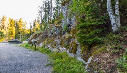 Гора Филина (Хуухканмяки): бывший финский резервный командно-штабной бункер