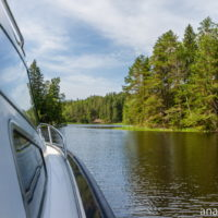 На катере по Ладожским шхерам. Часть 4: ладожские пейзажи