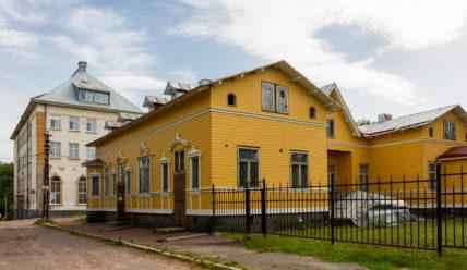 Музей Северного Приладожья в бывшем доме доктора Винтера в Сортавале