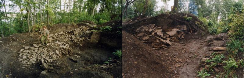Полевые исследования Любшанского городища в 1999 году