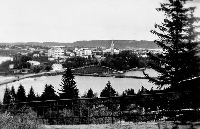 Панорама Сортавалы