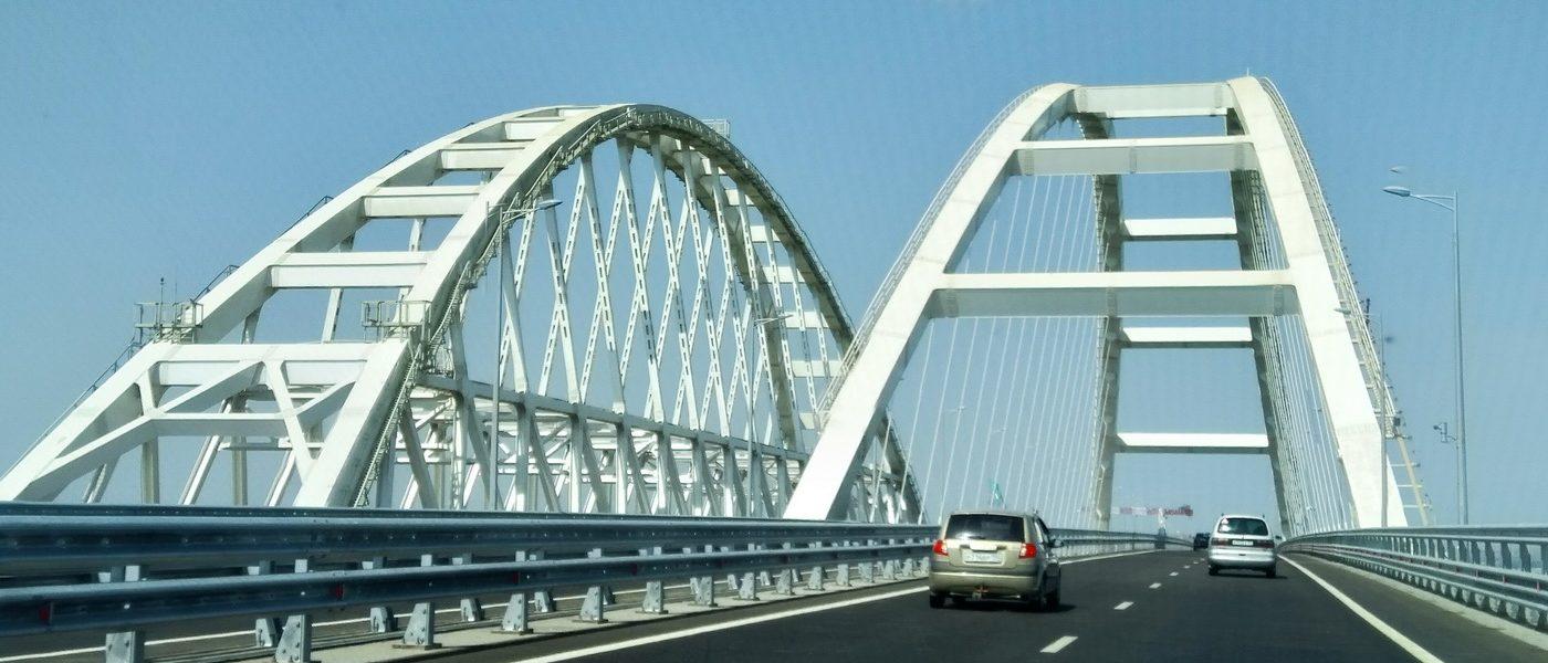 Таманский полуостров и Крымский мост
