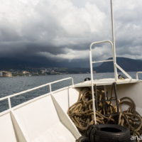 Морская прогулка в штормовую погоду из Ялты в Гурзуф и обратно