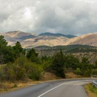 Дорога из Ялты в Керчь и серпантин от Алушты до Коктебеля