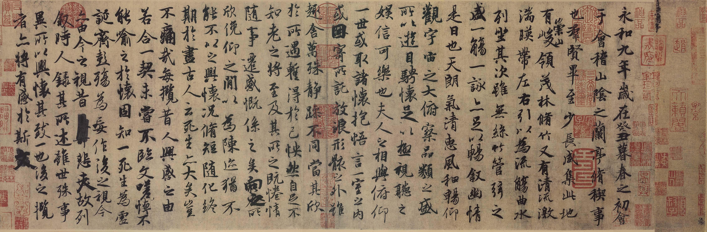 Предисловие Ван Сичжи к «Стихотворениям, сочиненным в Павильоне орхидей»