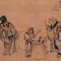 Китайский сюжет «Изображение трех кислот» и его интерпретации