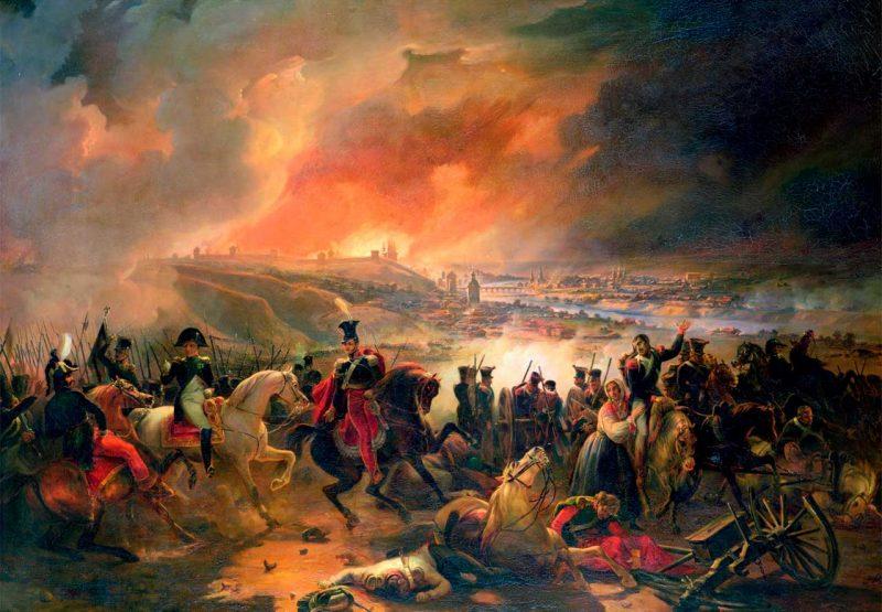 """""""Битва при Смоленске 17 августа 1812 года"""""""