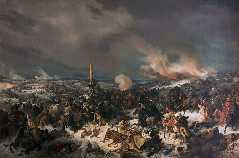 """Петер фон Гесс, """"Отступление французов через Березину 17 (29) ноября 1812 года"""""""
