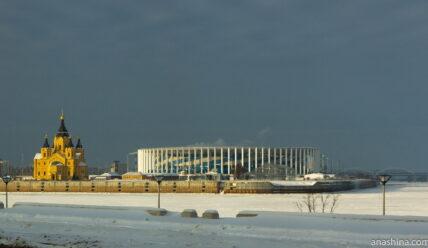 Стрелка: новая достопримечательность Нижнего Новгорода