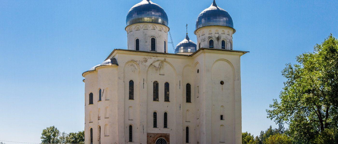 Юрьев монастырь в Великом Новгороде: Георгиевский собор и Анна Алексеевна Орлова-Чесменская