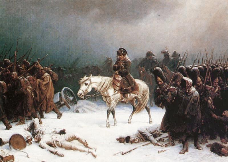 Отступление Наполеона из Москвы, Адольф Нортен