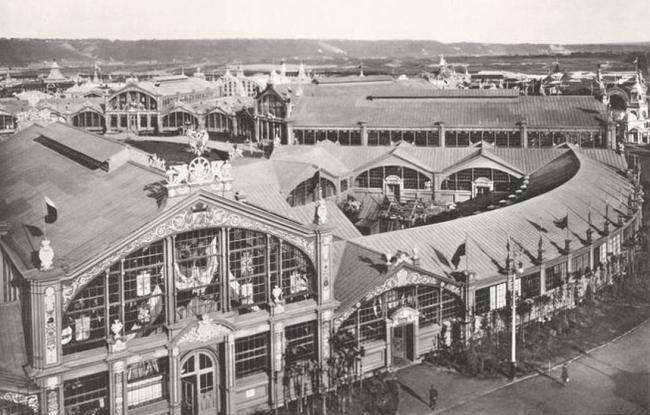 Центральное здание Всероссийской промышленной и художественной выставки в Нижнем Новгороде, 1896 год