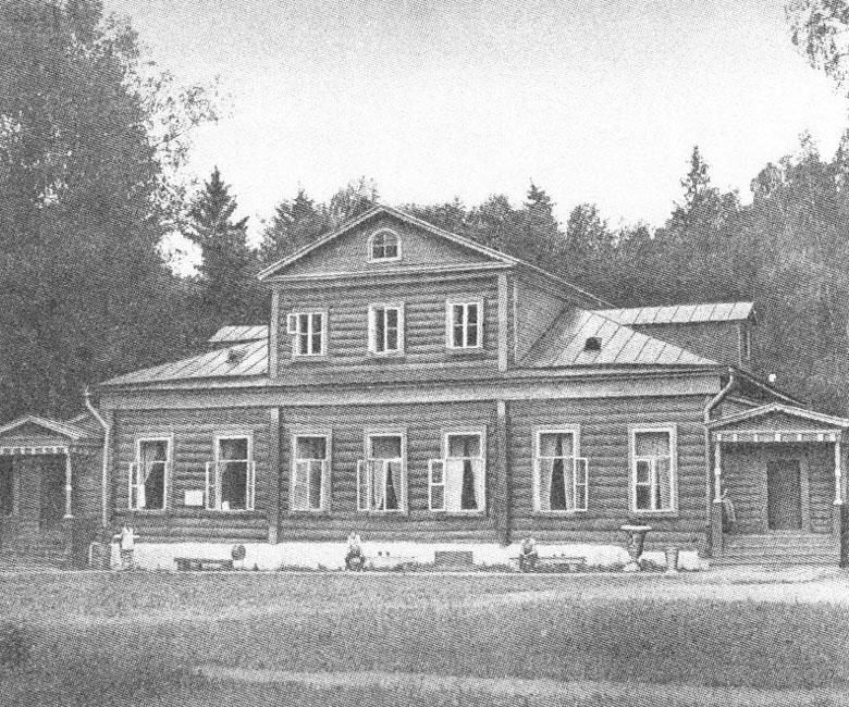 Главный усадебный дом в Ваньково