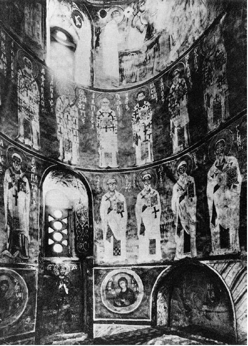 Фрески церкви Спаса-Преображения на Нередице