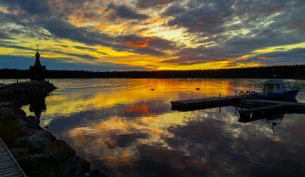 Мой отзыв о базе отдыха «Окуневая» на берегу Финского залива