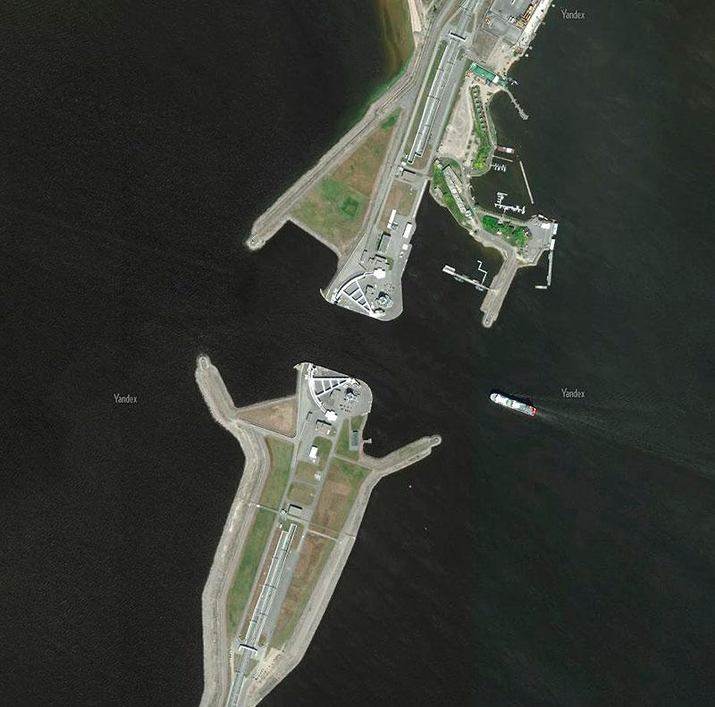 Судопропускное сооружение С1, дамба, Санкт-Петербург