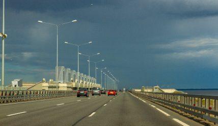 Дамба в Финском заливе: комплекс защитных сооружений Санкт-Петербурга от наводнений