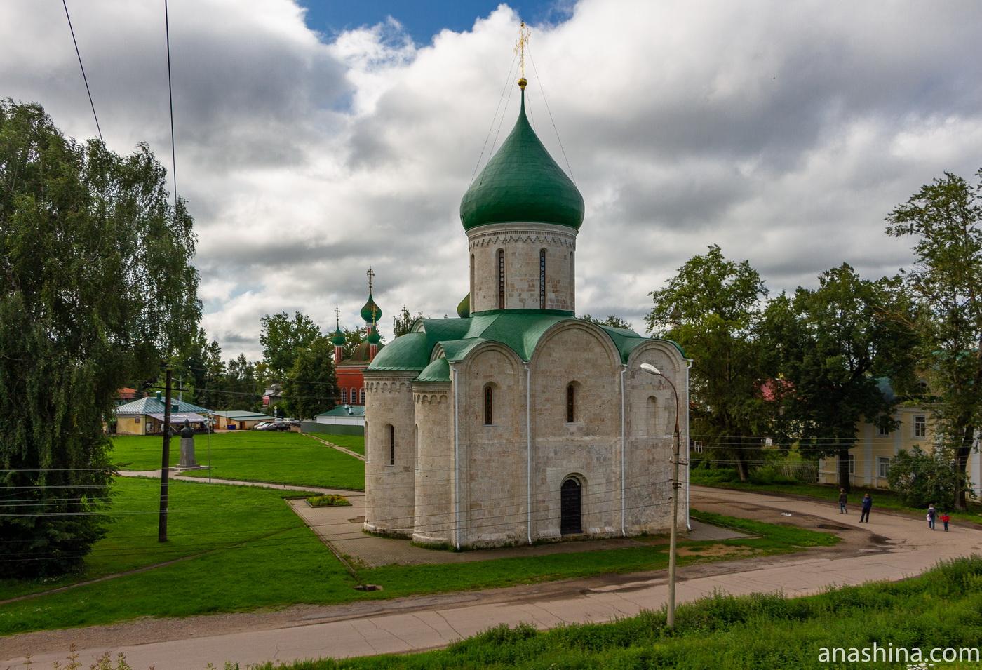 Спасо-Преображенский собор XII века в Переславле-Залесском
