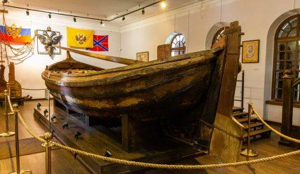 Музей «Ботик Петра I» в Переславле-Залесском