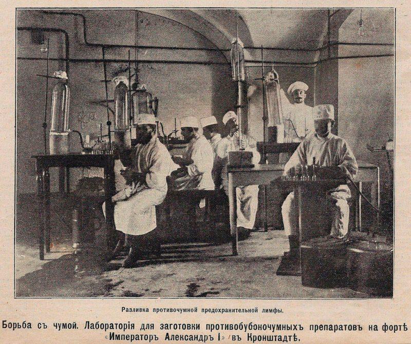 """Противочумная лаборатория в форте """"Александр I"""", Кронштадт"""