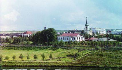 Вытегра начала XX века на фотографиях Прокудина-Горского