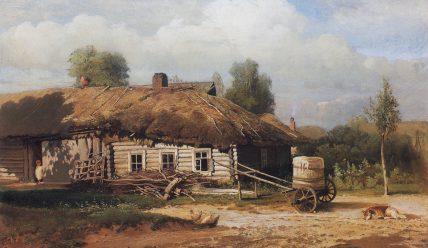 Как выглядели традиционные крестьянские дома Средней полосы России и Русского Севера