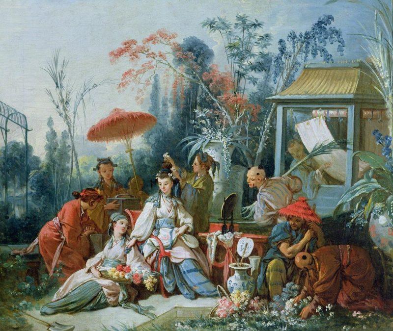 Франсуа Бушэ. Китайский сад