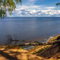 Фотопост: 20-метровый обрыв над Финским заливом близ форта «Красная Горка»