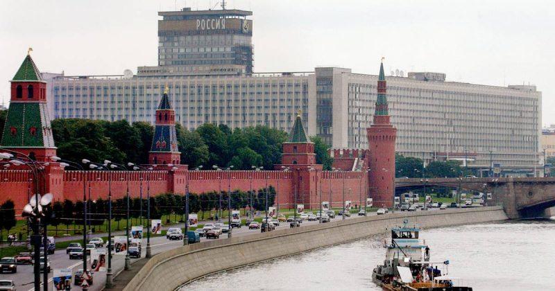 """Кремль и гостиница """"Россия"""""""