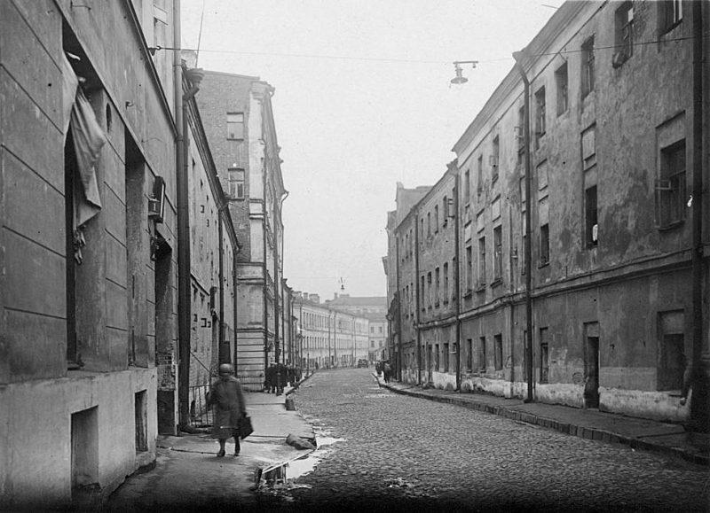 Ершов переулок. Фото 1940 года
