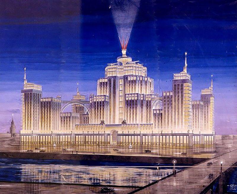 Конкурсный проект А. Г. Мордвинова