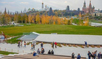 Зарядье как арена градостроительных экспериментов