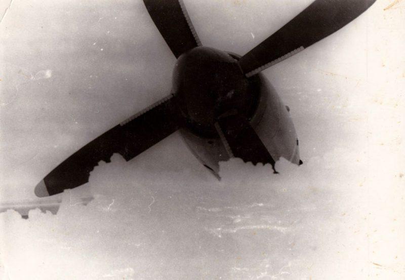 Ил-18Д, Антарктида, станция Молодежная, 1980 год