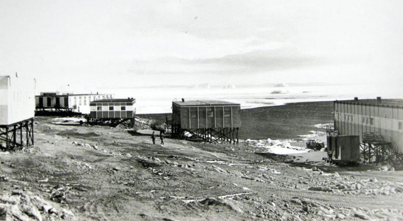 Станция Молодежная, Антарктида, 1980 год