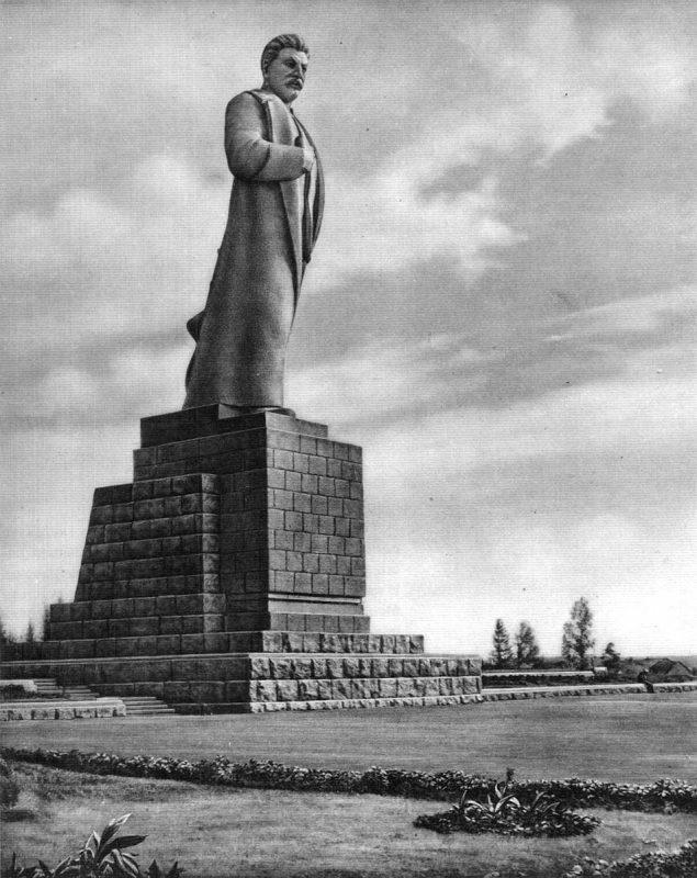 Памятник Сталину в Дубне